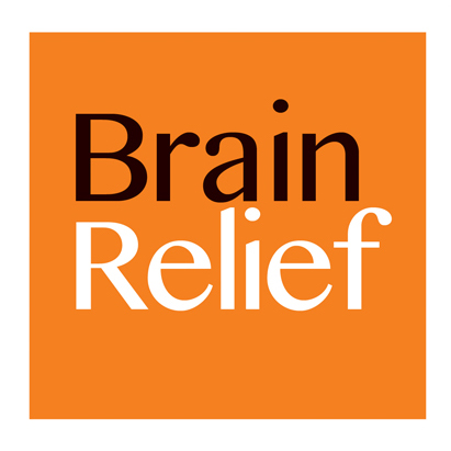 Brain relief logo